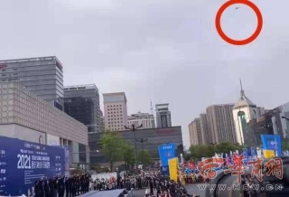 陕西第一起 男子黑飞无人机影响西马被拘留