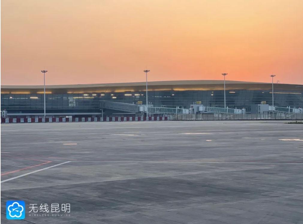 昆明长水机场S1卫星厅计划10月1日投入使用