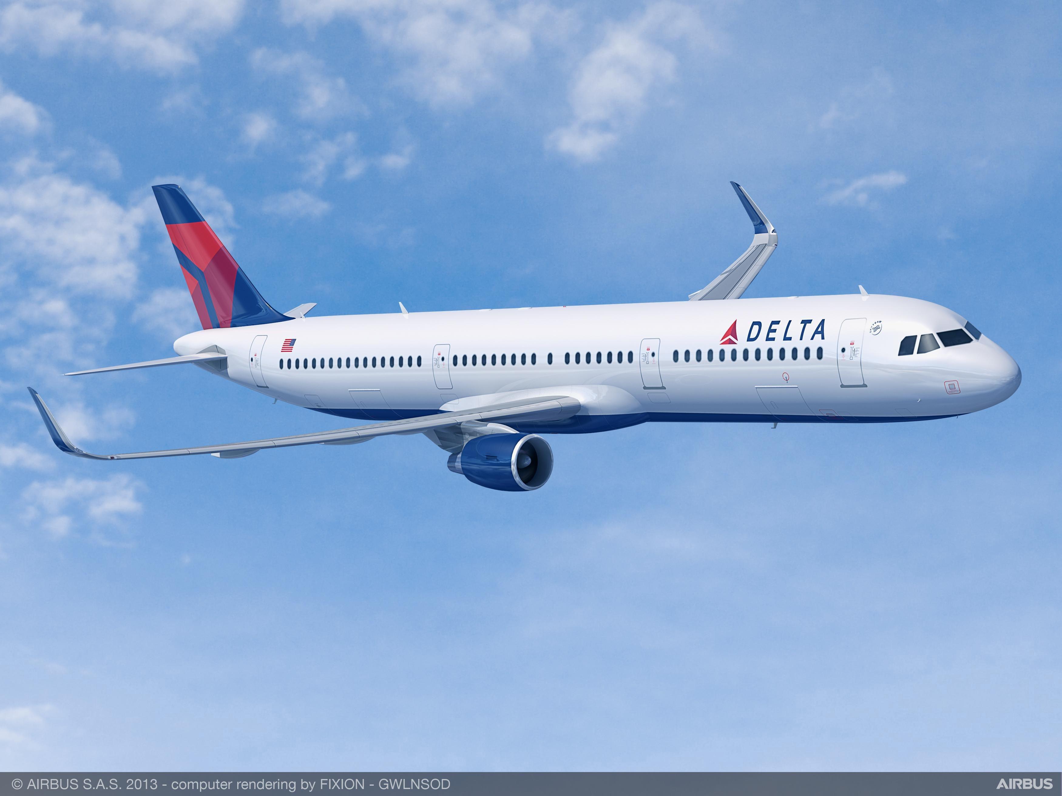 达美航空增购25架空客A321neo飞机