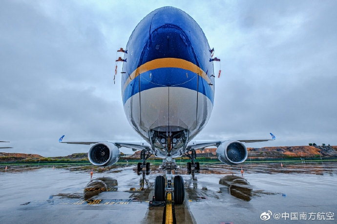 多图:南航新接收一架A350