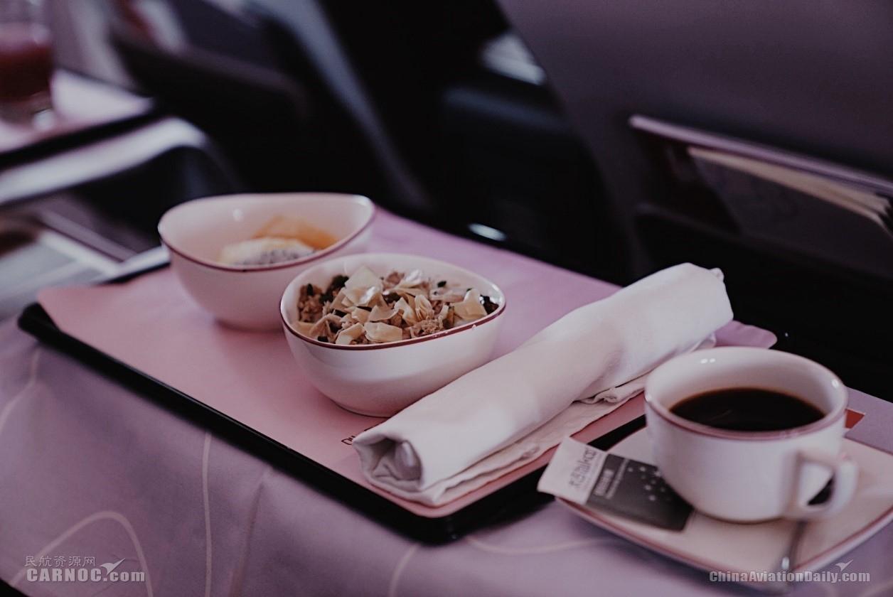 吉祥航空A320neo系列飞机客舱服务
