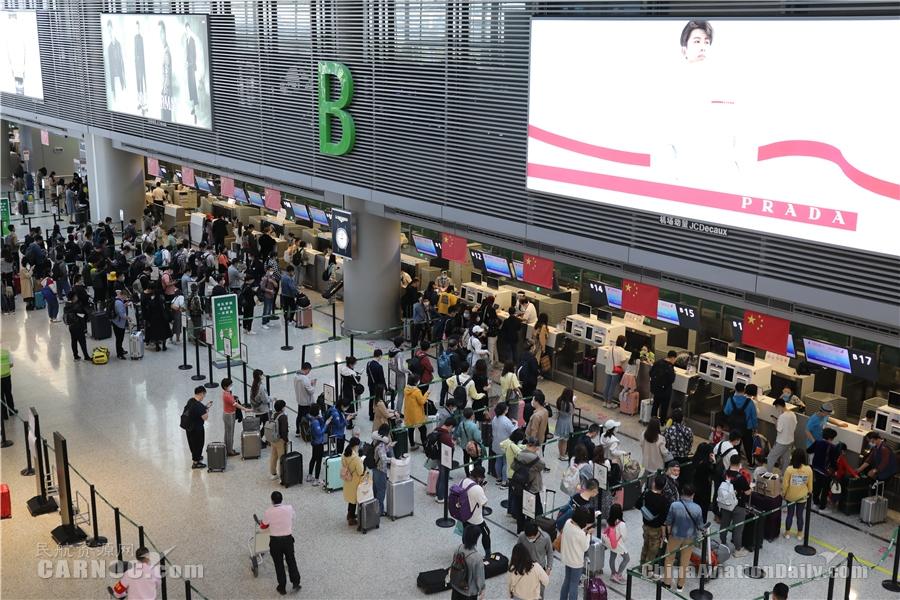 """东航""""五一""""长假服务208万人次出行,""""前程万里""""迎第一波兑换高峰"""