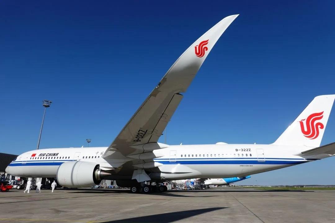 双机同达 运力倍增 | 国航迎A350新客机入列!