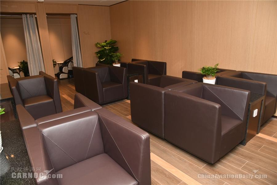 东航杭州萧山机场贵宾厅5月8日开始试运营