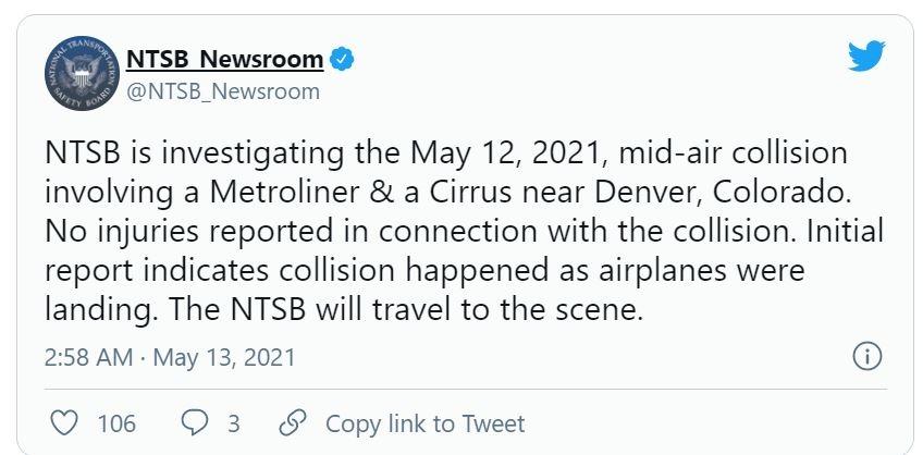 NTSB调查