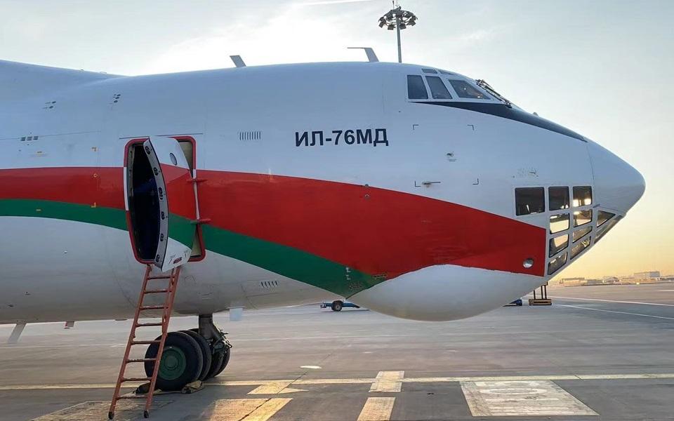 刚刚,载有30万剂国药疫苗的飞机从北京飞往白俄罗斯