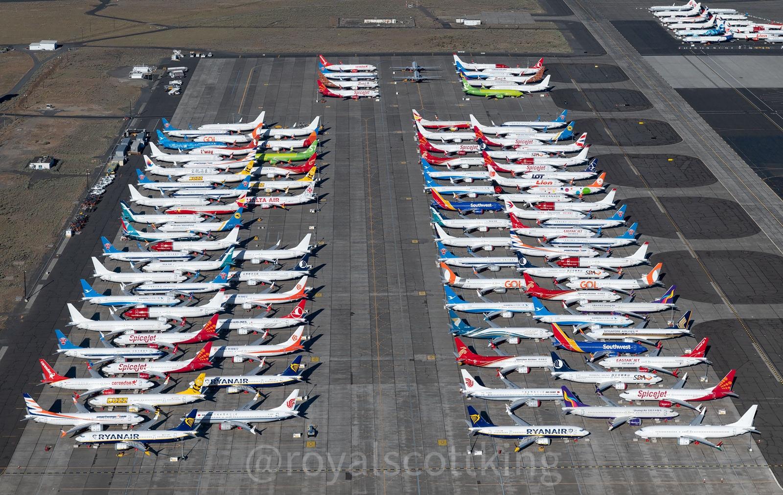 彭博:美国政府正寻求中方批准波音737MAX复飞