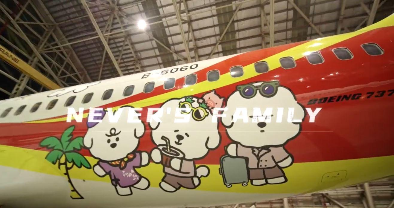 """视频:海航""""天猫×李佳琦""""主题彩绘机今日首飞"""