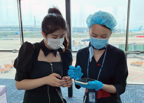 筑牢疫情防控堡垒 东航广东分公司在行动