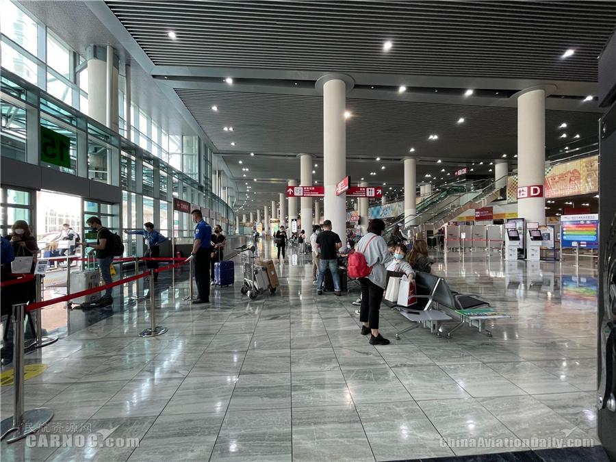 澳门机场再次提醒:进入机场须遵守防疫措施