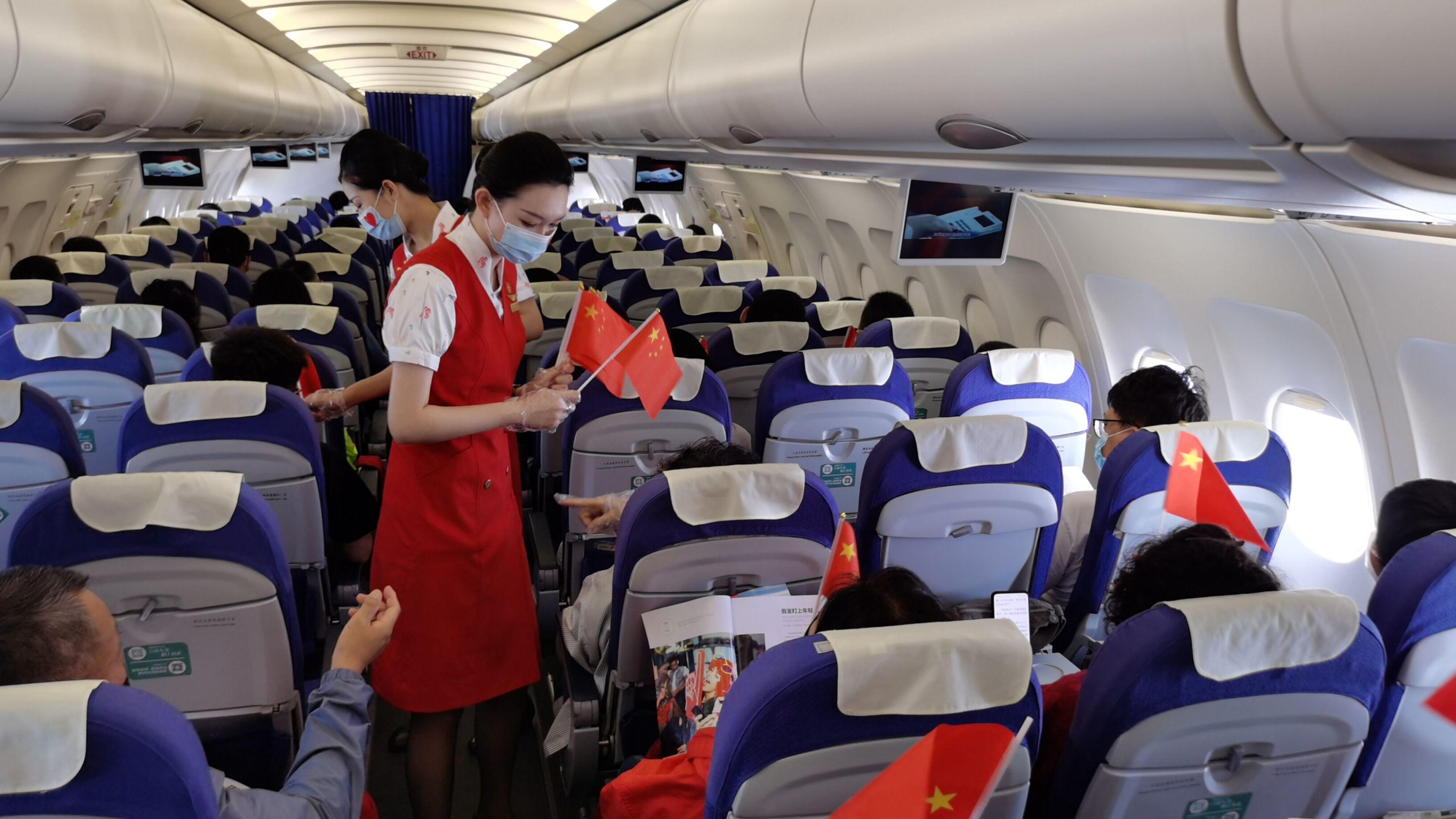 庆建党百年 深航举行党史进客舱主题航班活动
