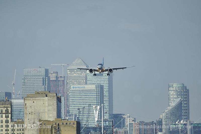 巴航工业E190-E2获伦敦城市机场起降认证