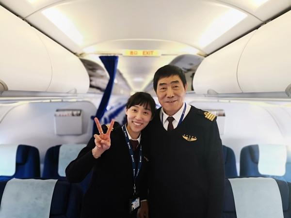 东航女飞高洁:我是党员,我为国家和人民而飞行