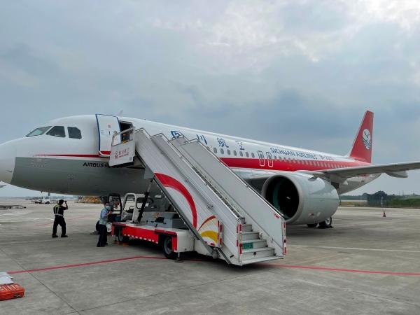 川航接收第172架飞机