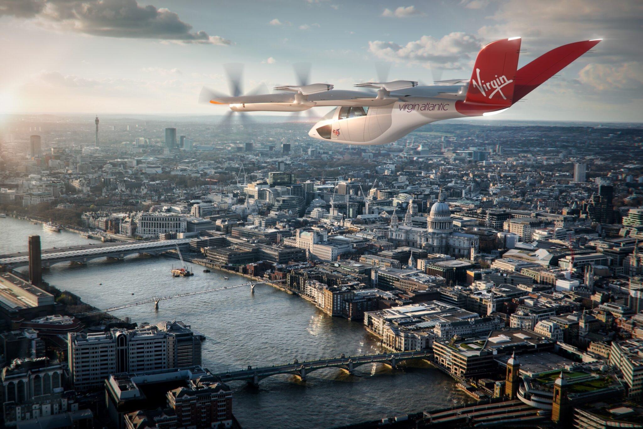 飞在天上的出租!美航和维珍航空购买400架电动垂直起降飞机
