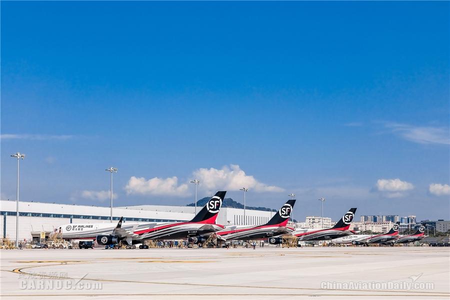 顺丰航空机队规模增长至66架