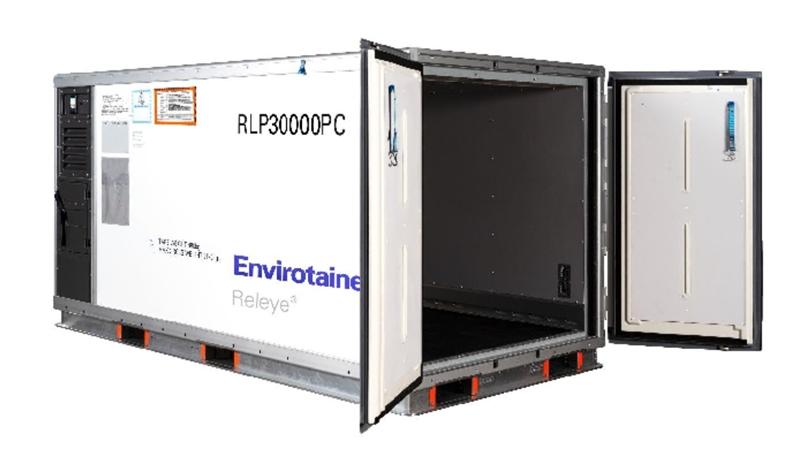 国泰货运成为首家提供温瑞通Envirotainer Releye RLP 集装箱的亚洲航空公司