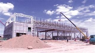 白银通用机场项目主体建设完成