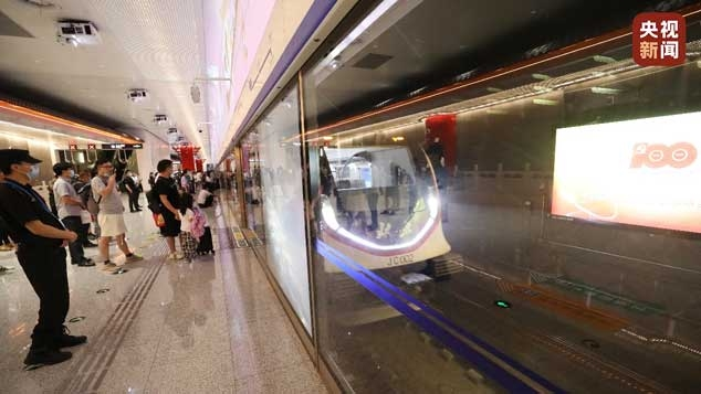 交通智能化!地铁大兴机场线实现全自动运营