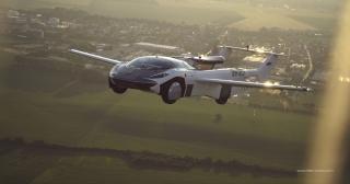 AirCar飞行汽车完成两机场间测试飞行 仅需35分钟
