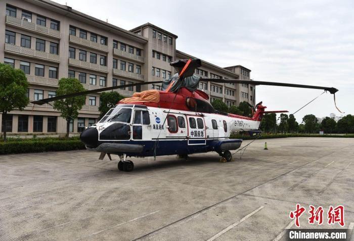 湖北省首届直升机救生培训班开班