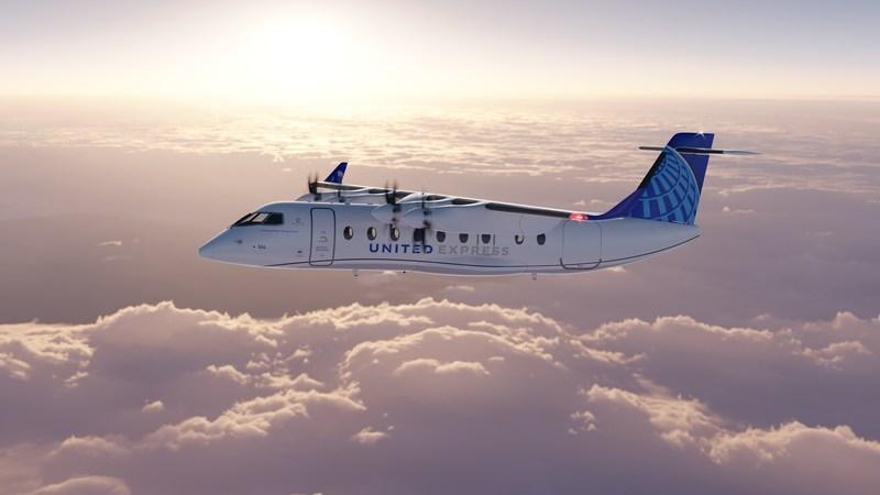 美联航订购100架全电支线客机