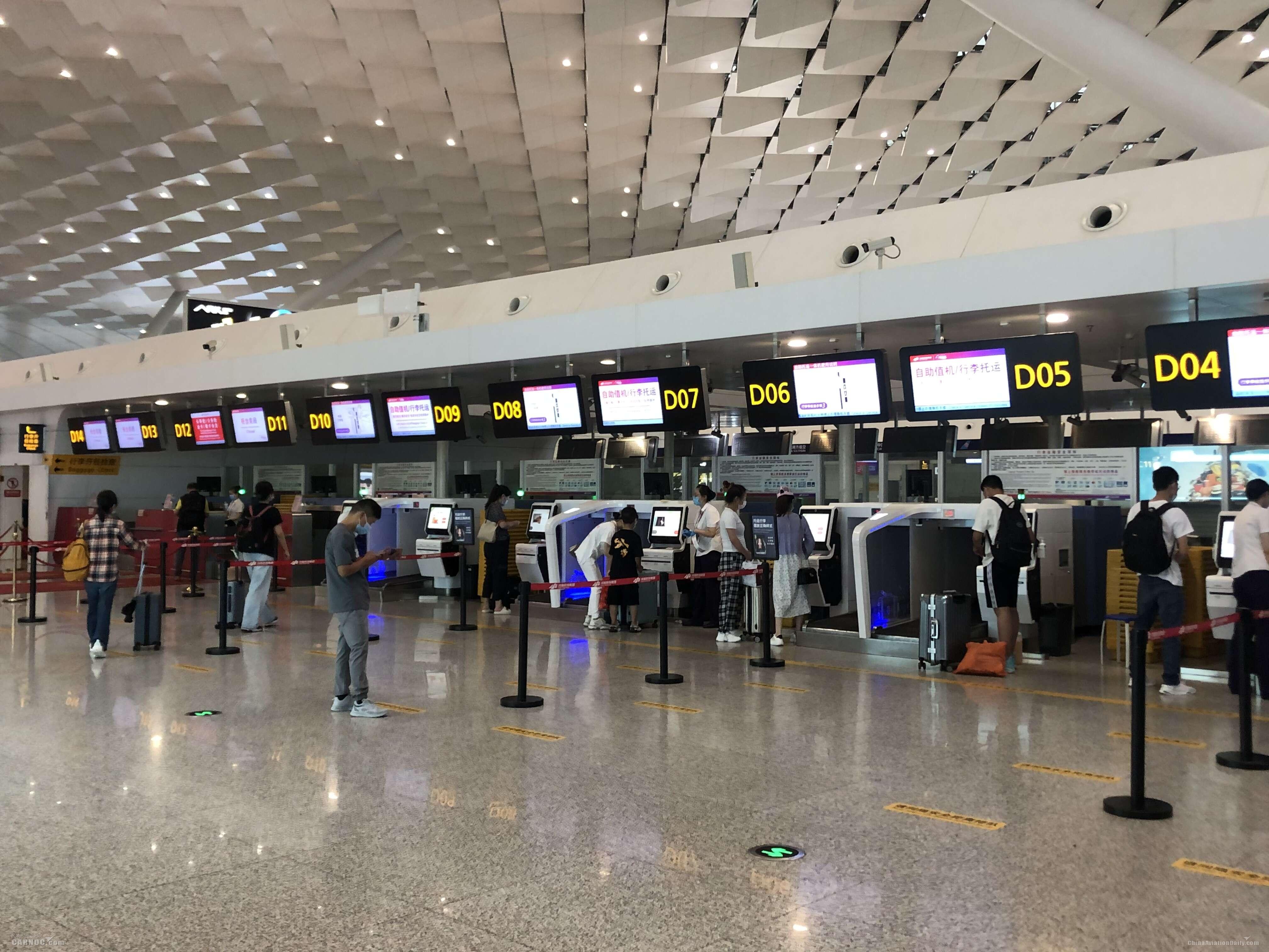 郑州机场次大面积航班延误升级为橙色预警