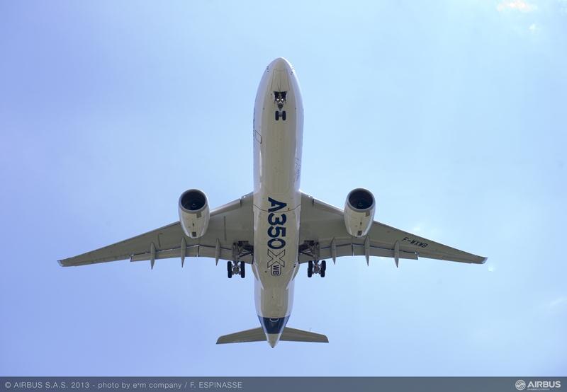 空客A350首次在华交付  中国元素的根植与寄望