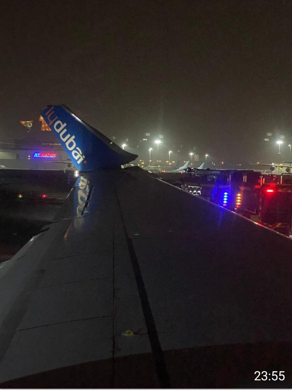 737与A321在迪拜机场擦撞 均停飞