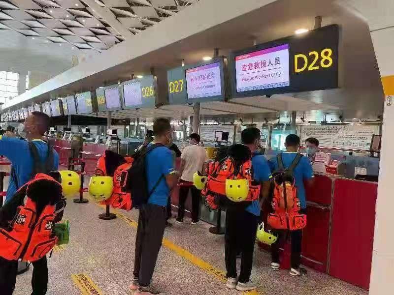郑州机场开设应急救援人员绿色通道