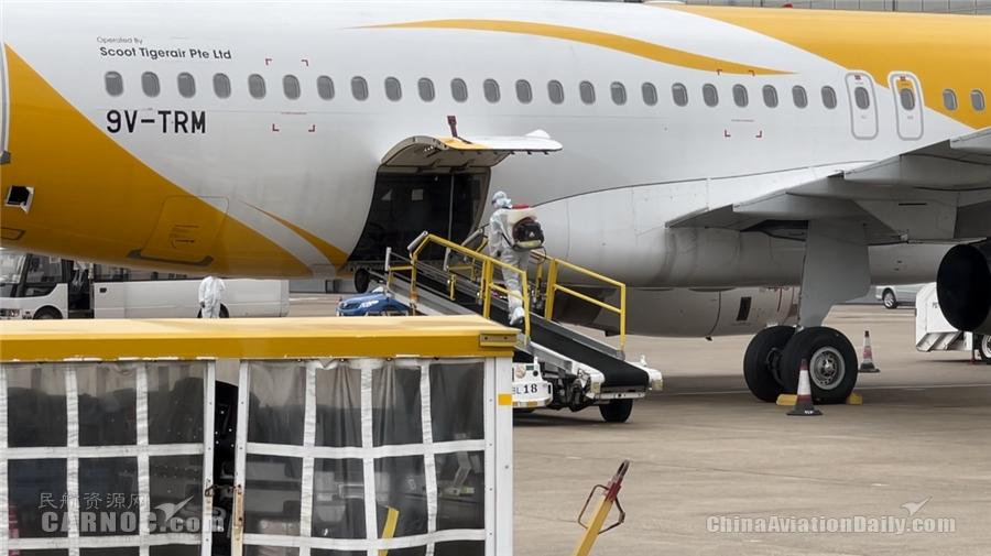 CAM执委会全体成员到机场前线进行防疫工作检查