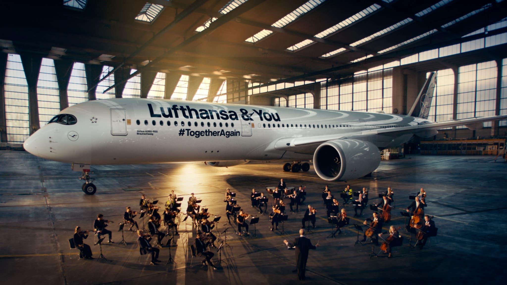 管弦乐队+A350!汉莎航空新广告来了