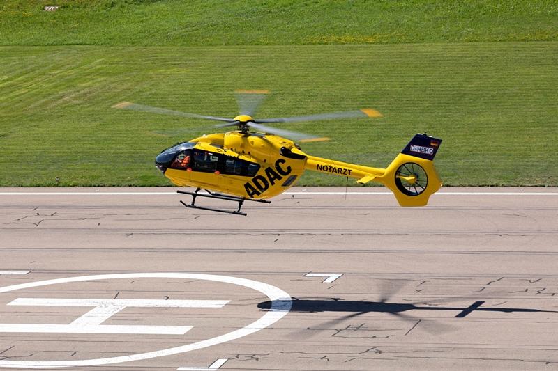 ADAC接收其首批两架五桨叶H145直升机