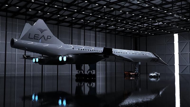 Leap Aerospace和它的神奇超音速VTOL零碳客机