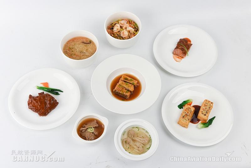 厦航机上热食回来了!还有全新八闽菜单与选餐新品