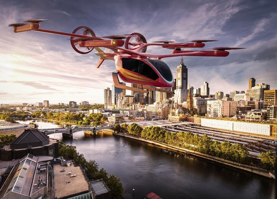 Eve与Microflite合作在澳大利亚开发城市空中交通服务
