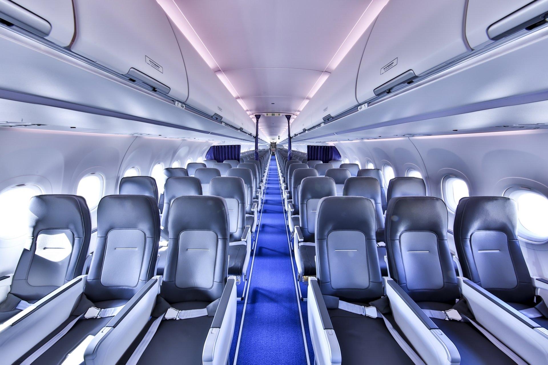 创新!汉莎首架配备Airspace客舱的A321neo首航