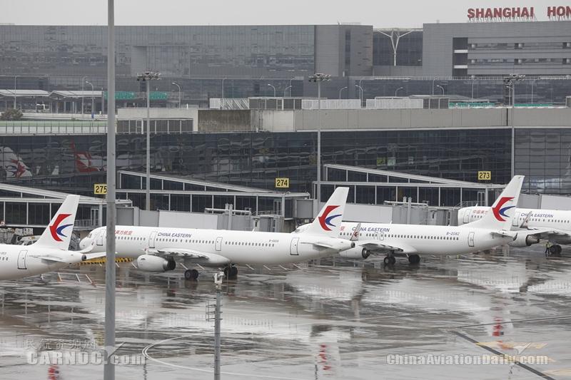 161架东航飞机陆续解除台风系留 东航上海航班有序恢复