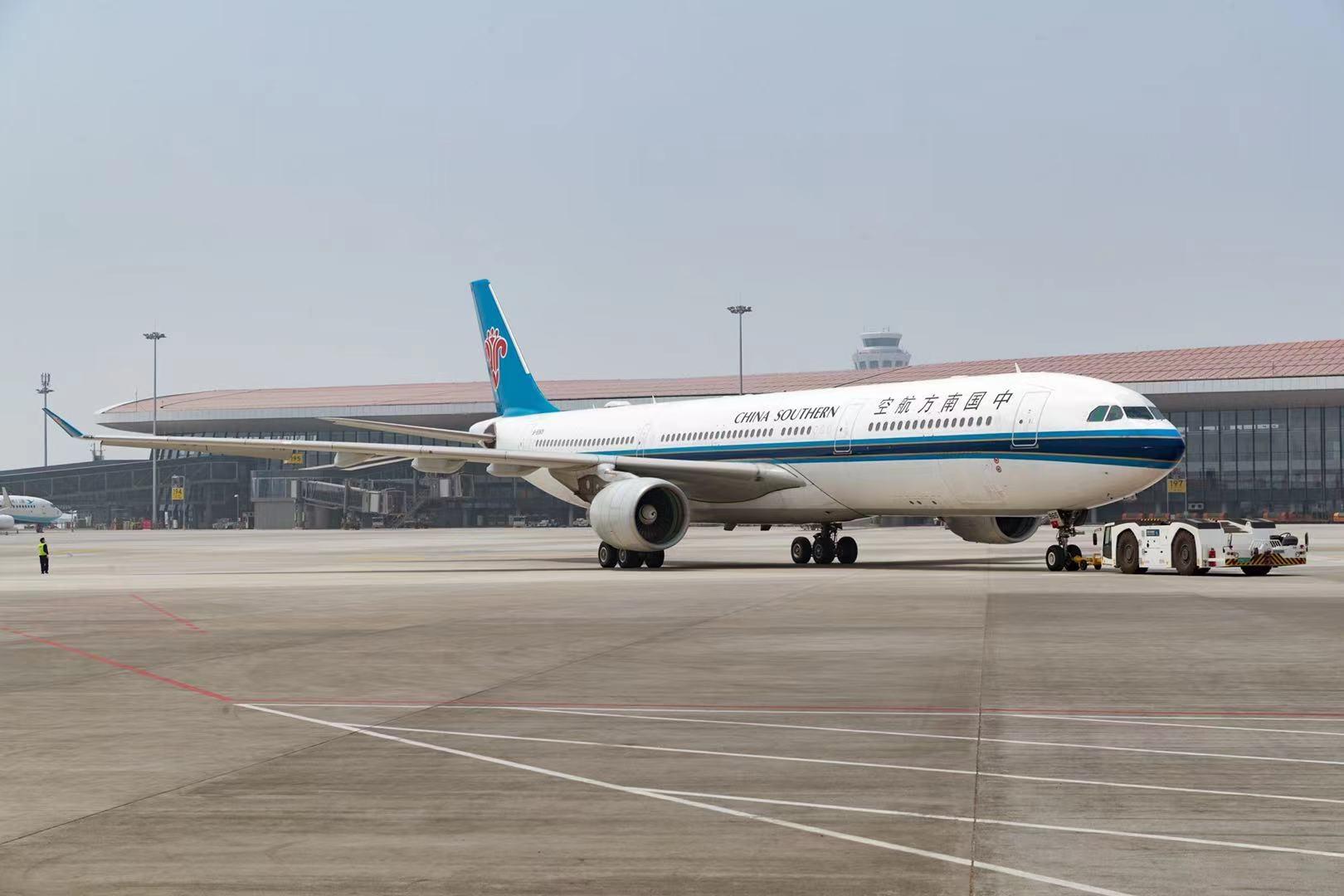 南航双节期间加大大兴机场运力投入  航空市场回暖明显