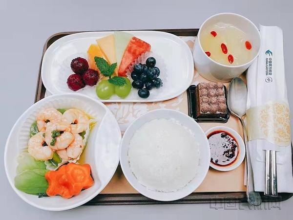 """东航""""云上食""""再上新 推出新款中式餐"""