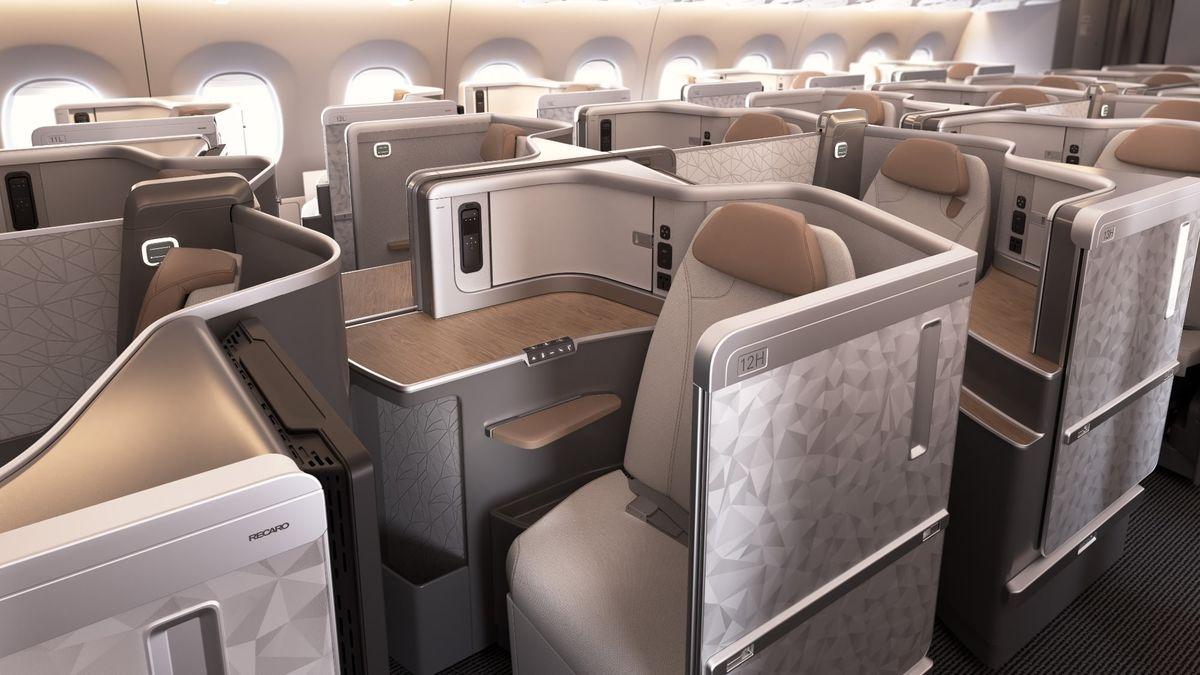 全球首发!国航A350将配备全新商务舱