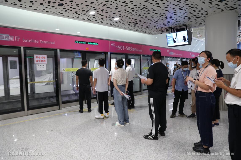 深圳机场卫星厅举行启用前首次综合演练