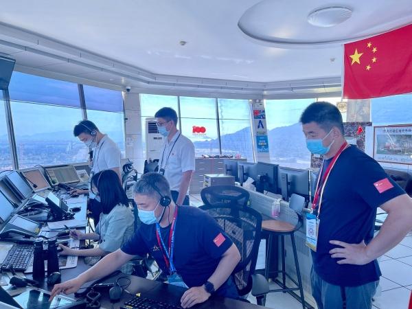 航展飞行训练火热进行,珠海空管站全力协同保障