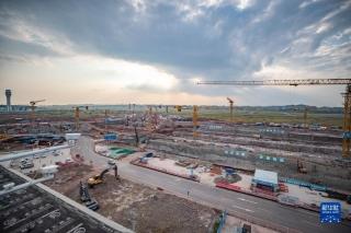 重庆江北国际机场T3B建设进入主体施工阶段