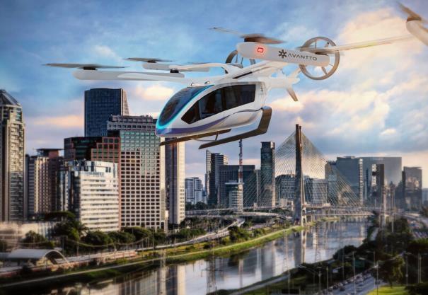 Eve 与Avantto将在巴西和拉丁美洲发展城市空中交通业务