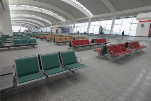 """武汉天河国际机场新航站楼今日迎来""""大考"""""""