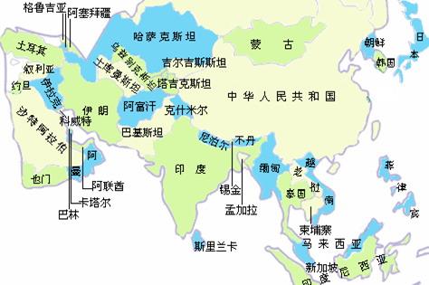 谷歌泰国地图中文版