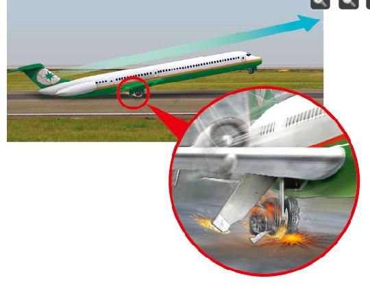 [xmyzl新闻·国内]台立荣航空爆胎事故调查出炉:人为疏失险酿大祸 - Flyer - T3航站大楼
