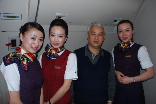 北京国际机票ok5677推荐-图片 国航西南分公司乘务组详实办事四川