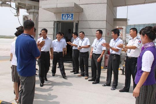 何喜奎董事长为榆林机场跨越式发展领航把舵